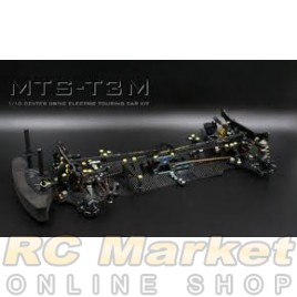 BLAZE BRC-120034 MTS-T3M On-Road (Mid Motor) Electric Touring Car 4wd Pro Version, Carbon Fiber
