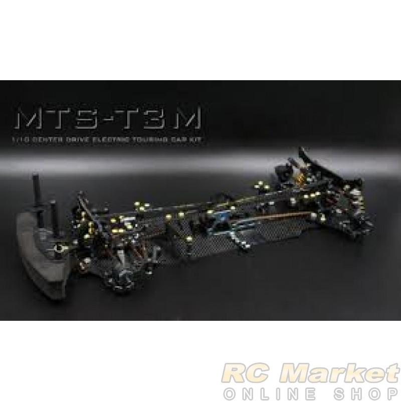 BLAZE BRC-120034 MTS-T3M On-Road (Mid Motor) Electric Touring Car 4wd Pro Version, Carbon Fiber