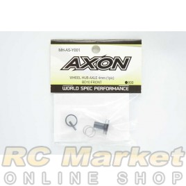 AXON MH-AS-Y001 Wheel Hub Axle 4mm (1Pic) For BD10 Front