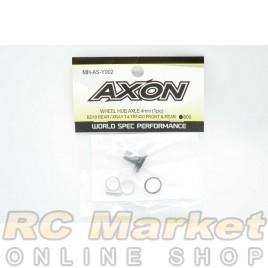 AXON MH-AS-Y002 Wheel Hub Axle 4mm (1pic) - BD10 Rear, XRAY T4, TRF420 Front & Rear