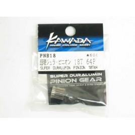 KAWADA Super Duralumin Pinion Gear 18T 64P